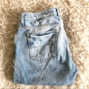 Zara Jeans - Zara Today is the Day Z1975 relaxed boyfriend jean